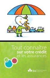 Tout connaître sur votre crédit et les assurances - La Capitale ...