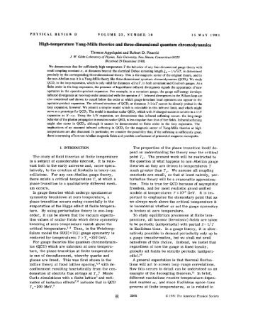 High-temperature Yang-Mills theories and three-dimensional ...