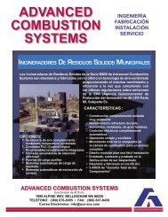 Incineradores Sólidos de Residuos Municipales - ACS, Inc