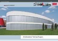 DriveAcademy® Training Program - SEW-Eurodrive