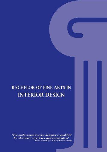 INTERIOR DESIGN - American University in Dubai