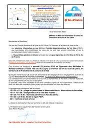 Convocation AG 2009 _2 - Ligue Paris Ile de France de Vol Libre - Ffvl