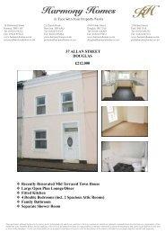 37 ALLAN STREET DOUGLAS £212000 Recently Renovated ... - ISSL