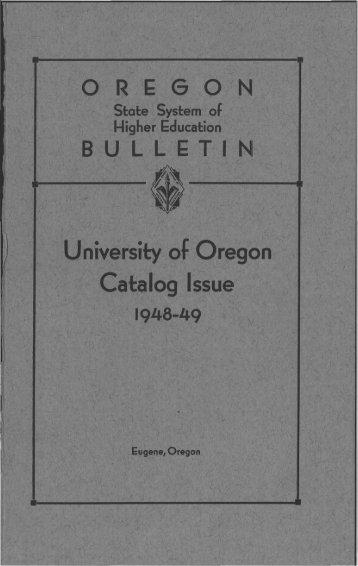 ทท - University of Oregon