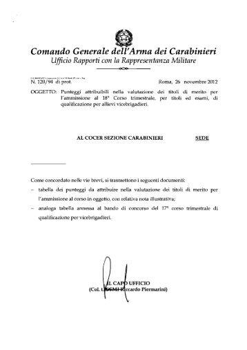 Comando Generale dell'Arma dei Carabinieri - Cesd-onlus.com