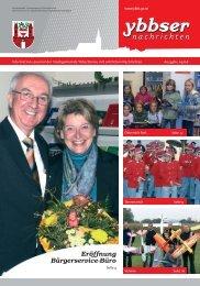 Eröffnung Bürgerservice-Büro - Gemeinde Ybbs