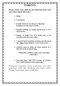 Vacation Care Program - 8 to 19 July 2013 - Waratah-Wynyard ... - Page 2
