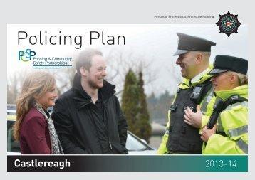Local Policing Plan - Castlereagh Borough Council