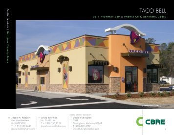 TACO BELL TACO BELL - Property Line