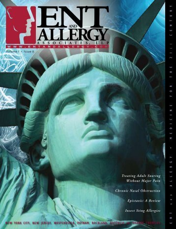 ENT and Allergy Magazine Volume I, Issue II - ENT & Allergy ...
