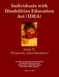 IDEA - Indiana Department of Education