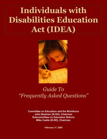 individuals with disabilities education act idea