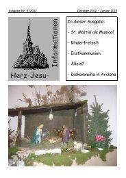 Herz-Jesu-Informationen 3/2012 - Herz Jesu Fechenheim
