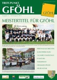 """aktion """"saubere gemeinde 2012"""" - Stadtgemeinde Gföhl"""