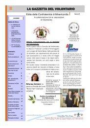 La Gazzetta del Volontariato n. 4 - Ce.Se.Vo.Ca.