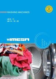WASHING MACHINES - Laundry Equipment
