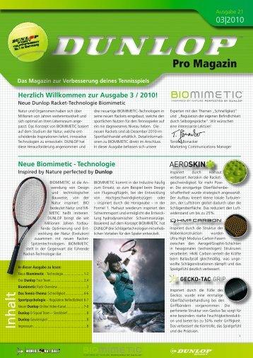 Neue Biomimetic - Dunlop Sport