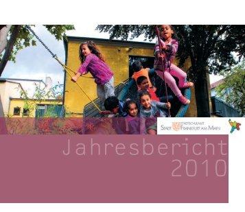 Stadtschulamt Stadt Frankfurt am Main: Jahresbericht 2010