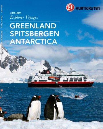 GREENLAND SPITSBERGEN ANTARCTICA - Hurtigruten