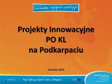 Cel projektu - wup rzeszow.pl - Wojewódzki Urząd Pracy w Rzeszowie