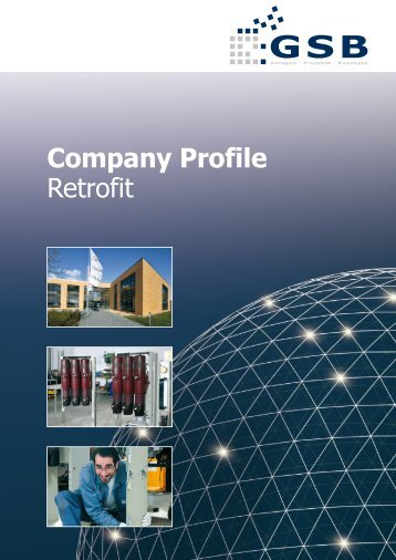 Company Profile Retrofit - GSB mbH & Co. KG