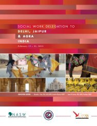 India - National Association of Social Workers