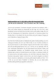 """""""Ich bin nicht sentimental"""". Fritz Overbeck zum 100. Todestag"""