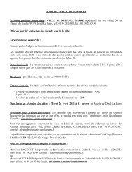 AVIS D'APPEL PUBLIC A LA CONCURRENCE - Deuil-la-Barre