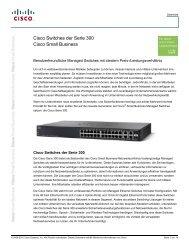Cisco Switches Serie 300 - Levantis