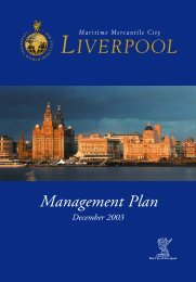 Management Plan - Liverpool World Heritage
