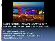 Harrah's Atlantic City and Success in the American Casino Era