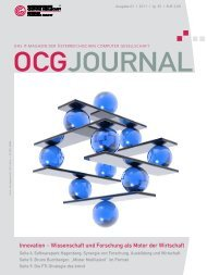 OCG Journal 1/2011 - L3T