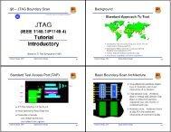 Basic Boundary-Scan Architecture