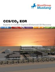 CO2 and Enhanced Oil Recovery - Mustang Engineering Inc.