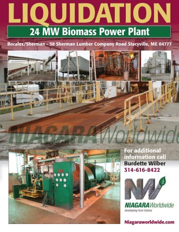 24 MW Biomass Power Plant - Niagara Worldwide