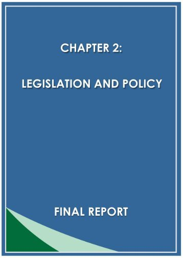 Legislation and Policy - Enviro Dynamics Namibia