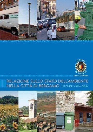 Relazione stato Ambiente 2005.pdf - Geo-Portale del Comune di ...