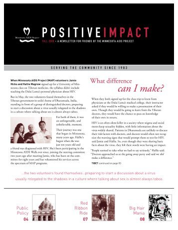 POSITIVE IMPACT - Minnesota AIDS Project