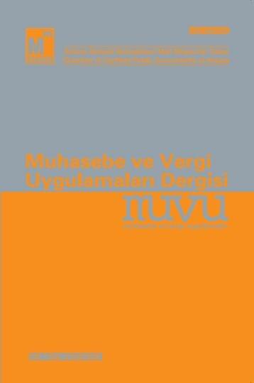 Muhasebe ve Vergi Uygulamaları Dergisi - asmmmo