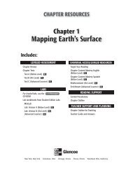 Mapping Earth's Surface; Grade 6 Chapter 1 - Peary Middle School