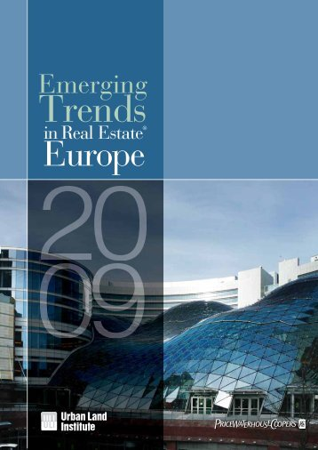 Emerging Trends in Real Estate Europe, PWC and