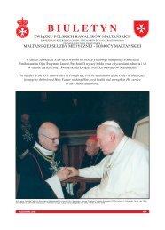 Biuletyn nr 9 01-Oct-2003 - Zakon Maltański Polska