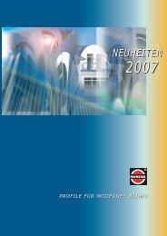 Die Protektor Neuheiten 2007