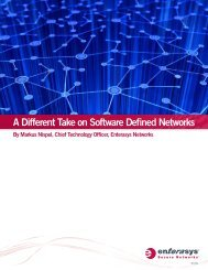 Software Defined Networks (SDN) - Enterasys
