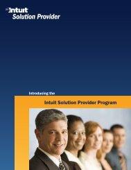 Intuit Solution Provider Program