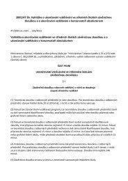 Vyhláška č. 47/2005 o závěrečné zkoušce