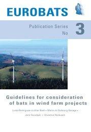 eurobats - Bats and Wind Energy Cooperative
