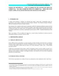 Implantação de sistemas de esgotos sanitários - CPRH