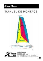 MANUEL DE MONTAGE - Hobie Cat