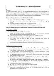Schulordnung der GS Gleiberger Land - Gesamtschule Gleiberger ...